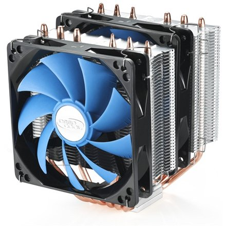 "Deepcool ""NEPTWIN"" universal cooler, 6 heatpipes, 2 x 120mm fan, support Intel LGA2011/1366/1156/1155/775 and AMD FM1/FM2/AM3+/AM3/AM2+"