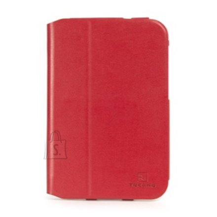 "Tucano Tucano Leggero folio case for Samsung Galaxy Tab 3 8"" (Red) / leather-like PU"