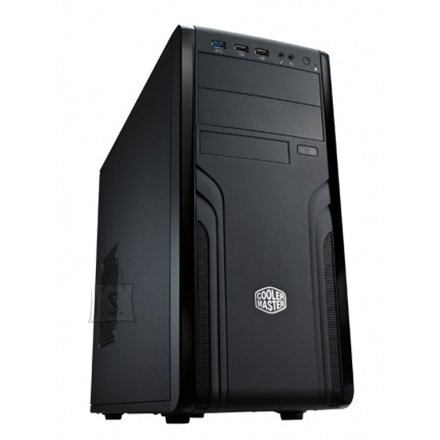 Cooler Master Cooler Master FORCE 500, Midl tower, with 120mm rear fan,  black w/o PSU, mATX / ATX