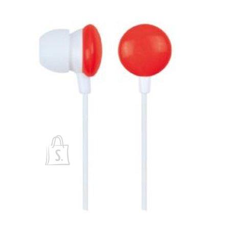 Gembird MHP-EP-001-R kõrvasisesed kõrvaklapid