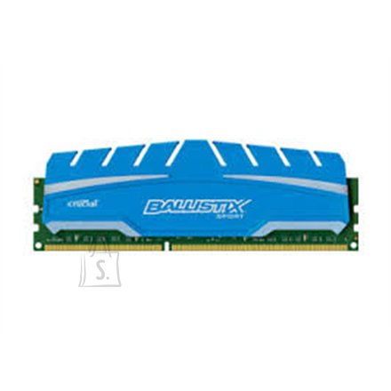 Crucial Crucial 4GB DDR3 Ballistix DIMM 240pin,  DDR3-1600, PC3-12800,  1.5V, Unbuffered NON-ECC, 512Meg x 64, CL-9-9-9-24