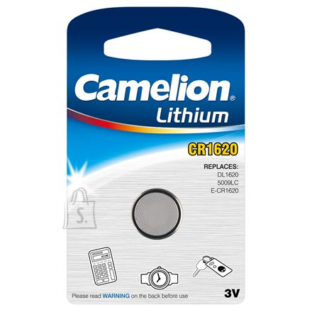 Camelion Camelion Lithium Button celles 3V (CR1620), 1-pack