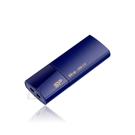 Silicon Power SILICON POWER 64GB, USB 3.0 FlASH DRIVE, BLAZE SERIES B05, DEEP BLUE