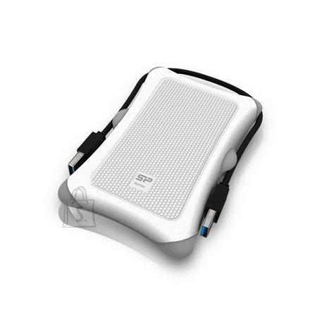Silicon Power SILICON POWER 500GB, PORTABLE HARD DRIVE ARMOR A30, USB 3.0, WHITE