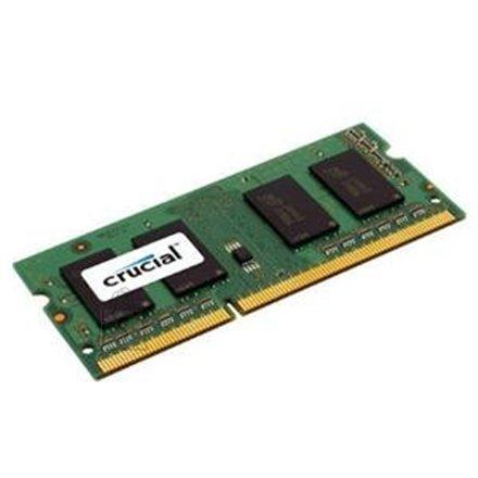 Crucial Crucial 4GB SODIMM, 204-pin, PC3-12800, CL=11, Unbuffered, NON-ECC, DDR3-1600