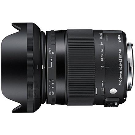 Sigma objektiiv 18-200mm F3,5-6,3 DC HSM Sonyle