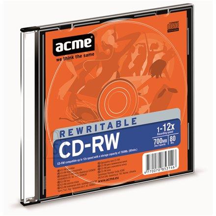 ACME toorik CD-RW 80/700MB 12X