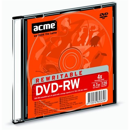 ACME toorik DVD-RW 4.7GB 4X
