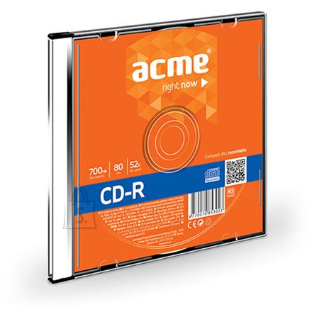 ACME ACME CD-R 80/700MB 52X slim box