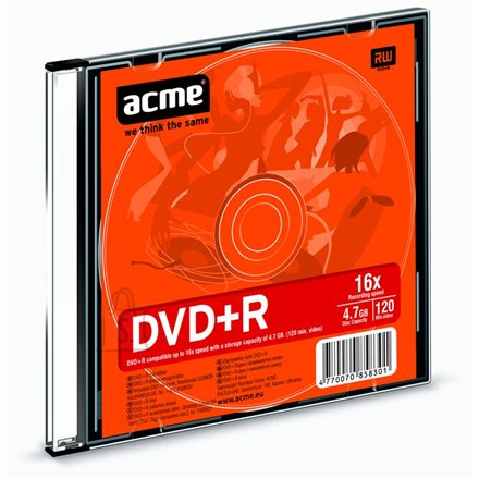ACME toorik DVD+R 4.7GB 16X