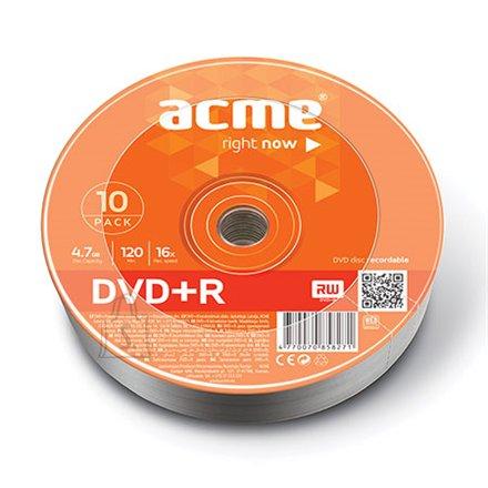 ACME toorik DVD+R 4.7GB 16X 10tk