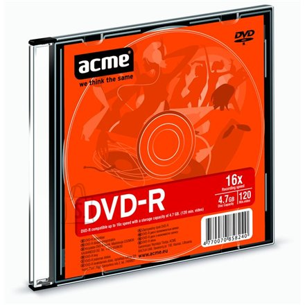 ACME toorik DVD-R 4.7GB 16X
