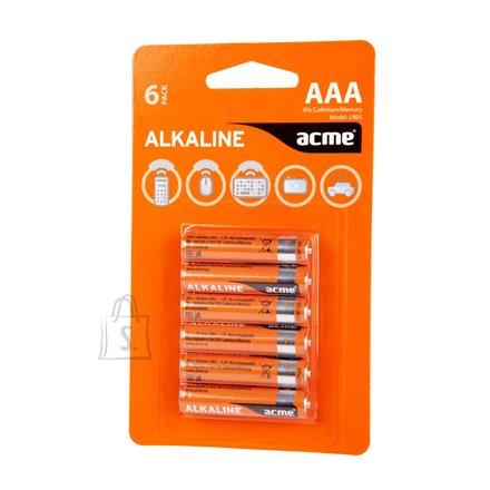 ACME LR03 Alkaline patarei AAA/6 tk/pakk