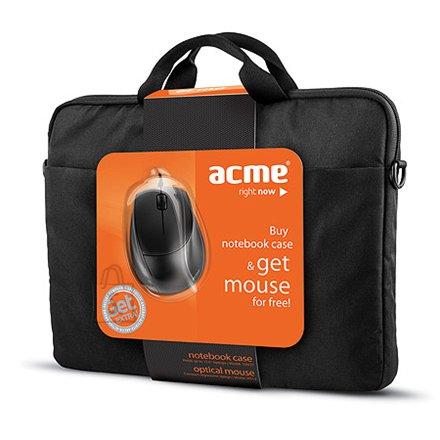 """ACME 16M37 sülearvutikott 15.6"""" + MS13 optiline hiir"""