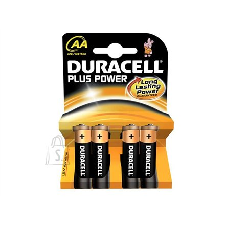 Duracell DURACELL Plus Power MN1500 AA (LR06), 4-pack
