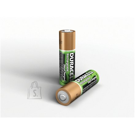 Duracell DURACELL Rechargeable Accu Stay Charged 2400mAh HR6 AA (LR6), 2-pack