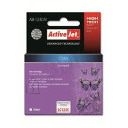 ActiveJet, Brother LC123C, Cyan ink cartridge