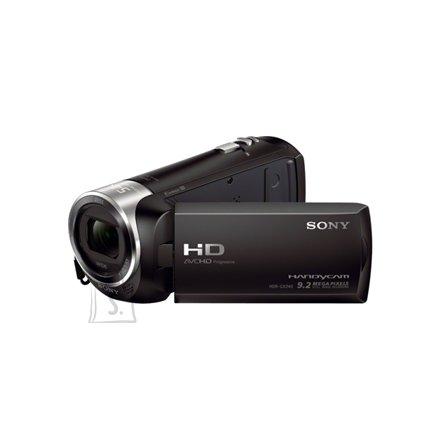 Sony videokaamera must HDR-CX220E