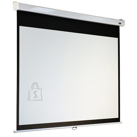 "Elite Screens M119XWS1 manuaalne projektori ekraan 119"""