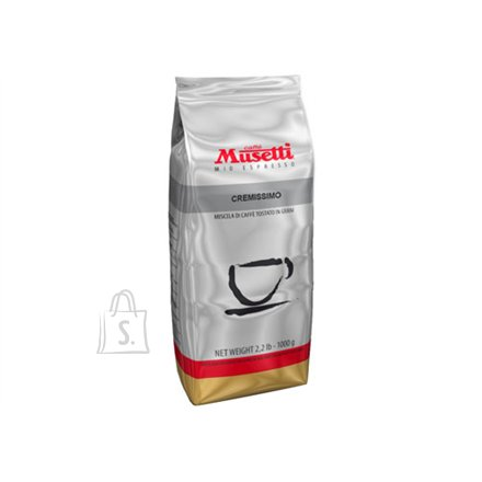 Caffe Musetti CREMISSIMO Beans, 73% Arabica, 27% Robusta 1kg