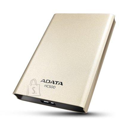 """A-Data A-DATA 2TB USB3.0 Portable Hard Drive HC500 External Hard Drive 2.5"""" SATA HDD, Golden"""