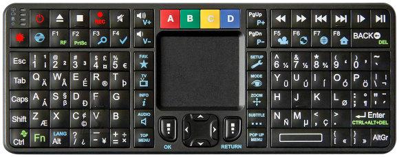 Dune HD Qwerty 2.4 Ghz mini juhtmevaba klaviatuur