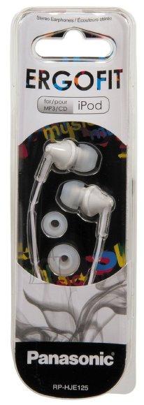 Panasonic RP-HJE125E-W kõrvasisesed kõrvaklapid