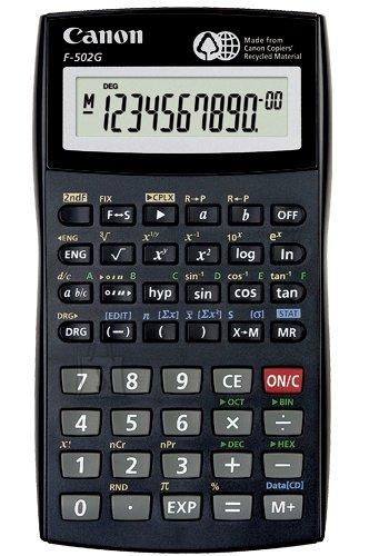 Canon F−502G kalkulaator
