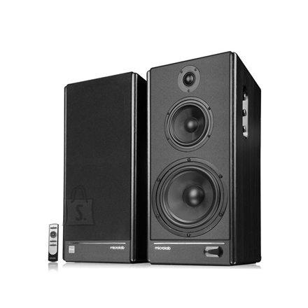 MicroLab Microlab SOLO8C 2.0 Speakers, Wooden/ 110W RMS (55W+55W)/ RCA/AUX input