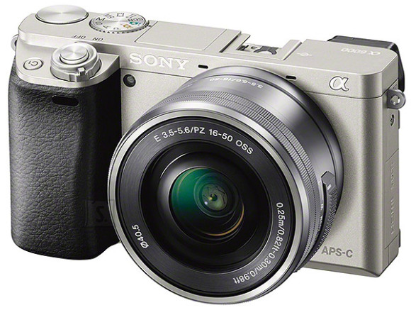 Sony A6000 hübriidkaamera