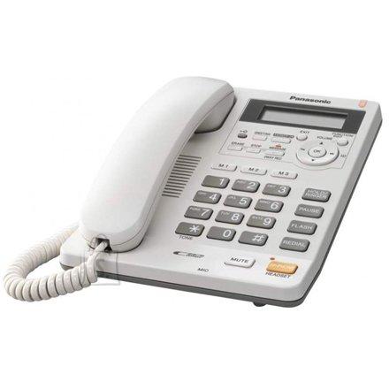 Panasonic KX-TS620FXW juhtmega lauatelefon