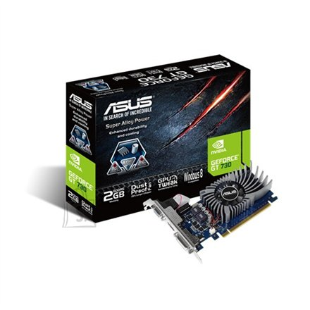Asus nVidia GeForce GT 730 GDDR5-SDRAM 2GB videokaart