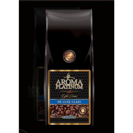 Kohvioad Aroma Platinum De Luxe Class Blue Label 1kg