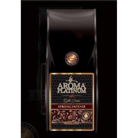 Kohvioad Aroma Platinum Strong Intense Brown Label 1kg