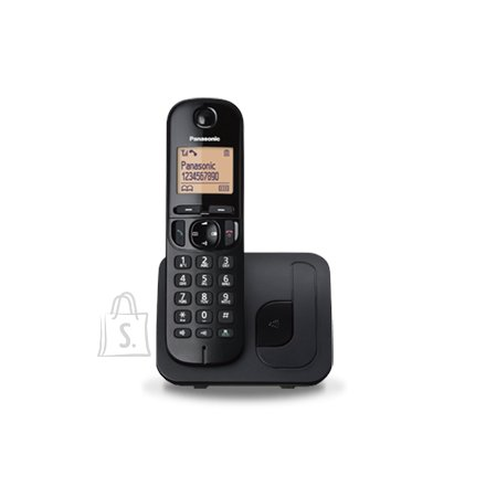 Panasonic Panasonic Cordless KX-TGC210FXB Black, Built-in display, Speakerphone, Caller ID, Phonebook capacity 50 entries