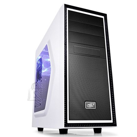 Deepcool Deepcool Tesseract Side window, USB 3.0 x1, USB 2.0 x1, Mic x1, Spk x1, White, ATX, Power supply included No