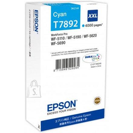 Epson T7892 tindikassett XXL Cyan