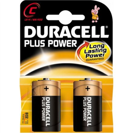 Duracell patareid C/LR14 Plus Power MN1400 2 tk