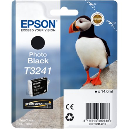 Epson Epson T3241 Ink Cartridge, Photo Black