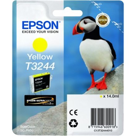 Epson Epson T3244 Ink Cartridge, Yellow