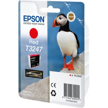 Epson Epson T3247 Ink Cartridge, Red