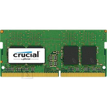 Crucial Crucial 4GB DDR4 SODIMM PC4-19200 2400MT/s, CL=17, Single Ranked x8, Unbuffered, NON-ECC, 1.2V, 512M x 64