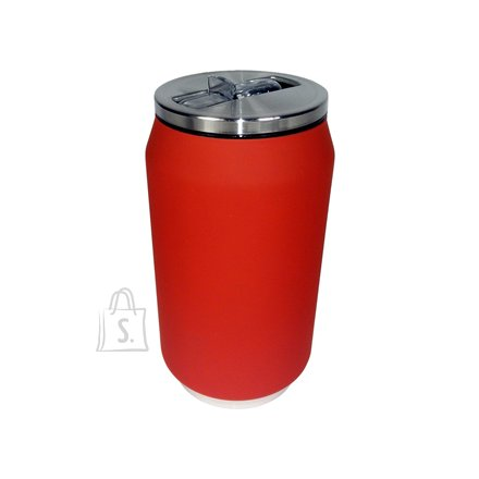 Yoko Design Yoko Design Isotherm Tin Can 280 ml, Soft touch red