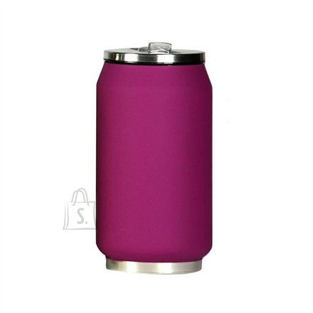 Yoko Design Yoko Design Isotherm Tin Can 280 ml, Soft touch violet