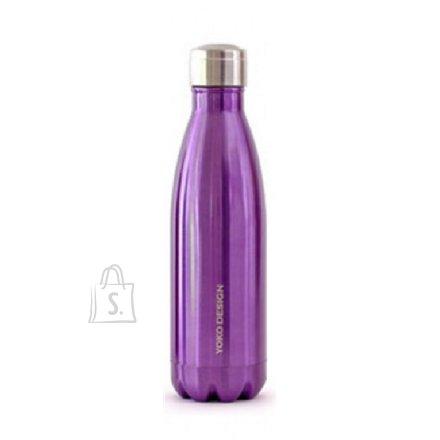 Yoko Design Yoko Design Isothermal Bottle 500 ml, Shiny purple
