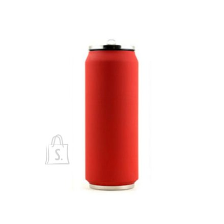 Yoko Design Yoko Design Isotherm Tin Can 500 ml, Soft touch red