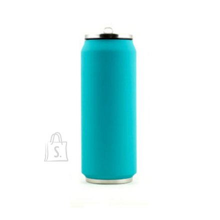 Yoko Design Yoko Design Isotherm Tin Can 500 ml, Soft touch light blue