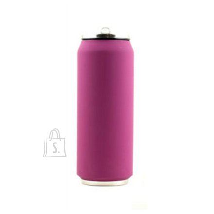 Yoko Design Yoko Design Isotherm Tin Can 500 ml, Soft touch violet
