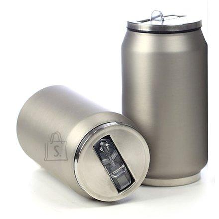 Yoko Design Yoko Design Isotherm Tin Can 280 ml, Soft touch silver