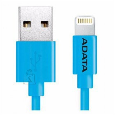 A-Data ADATA Sync and Charging Cable, USB A, Lightning, 1 m, Blue